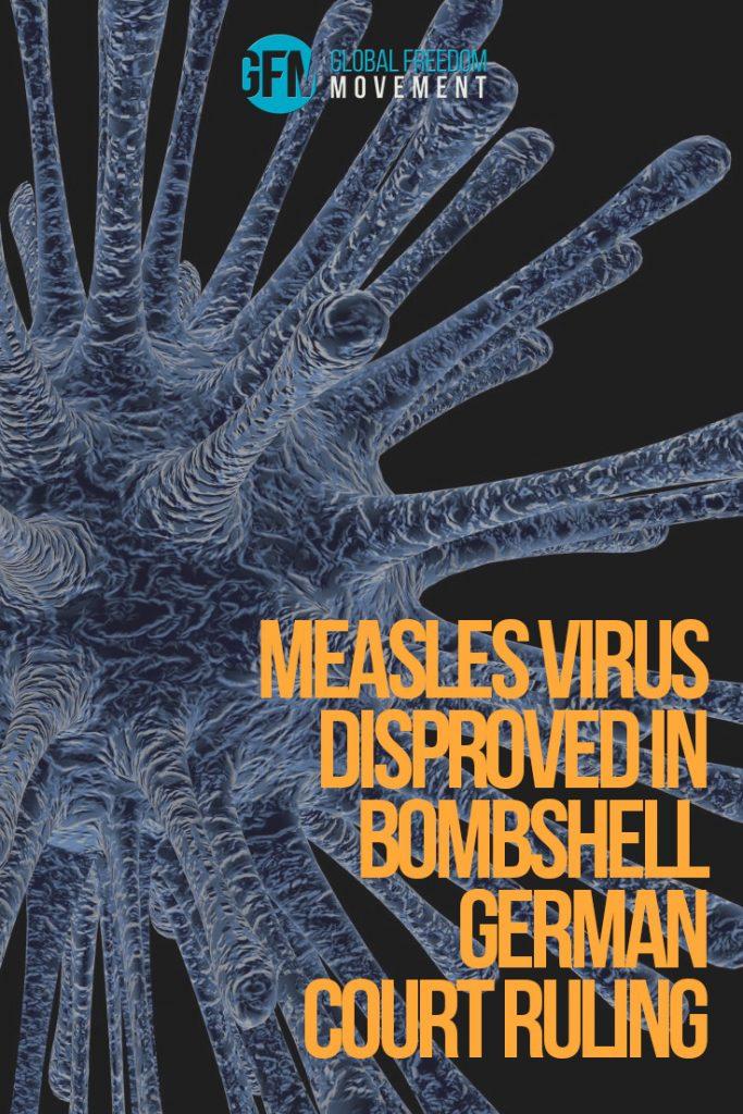 measles virus disproved